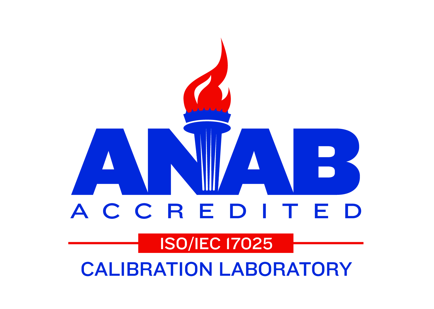 ISO/IEC 17025:2017 Accredited